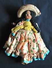 Vintage Mexican Doll Muneca (Teyacapan) Tags: doll muneca mexico mexican toys costumes vintage