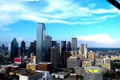 Hello Dallas (transit addict 327) Tags: dallas texas downtown building reuniontower nikon d5300 2016 1855mm partlycloudy mostlysunny