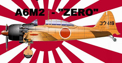 WWII Mitsubishi A6M2 Zero Fighter Ver.2 Free Aircraft Paper Model Download (PapercraftSquare) Tags: 133 a6m2 aircraftpapermodel fighter mitsubishi mitsubishia6m2zero wwii zero