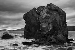 Helmet Rock Study: Ansel Adams tribute (Land's End) (.brianday) Tags: sanfrancisco study landsend photowalk tribute anseladams 2013 helmetrock asliceoftime