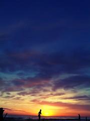Sunset 9pm (laurw) Tags: sunset beach uruguay atardecer playa iphone canelones chameleonfilter balnearioaraminda