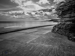 Shore Line (Shotslot) Tags: sea water landscape rocks yorkshire scarborough seafront