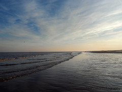 Skegness (tracysuzanne21) Tags: blue winter sunset sea sky sun seascape beach nature water beauty clouds outdoors photography sand waves colours bright north samsung fresh skegness st200f