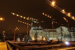 Nya Karolinska Sjukhuset (skumroffe) Tags: hospital site construction sweden stockholm schweden baustelle cranes constructionsite solna bygge nya gruas krane skanska liebherr sjukhuset karolinska grues sj