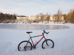 Old school. My old school. (olmofin) Tags: snow ice finland scool vantaa koulu vantaanjoenkoulu