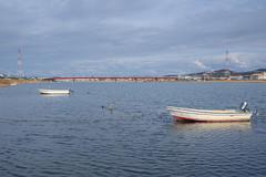 PhoTones Works #2410 (TAKUMA KIMURA) Tags: city plant nature river landscape boat town scenery rivers     omd distant kimura       takuma   em5    photones