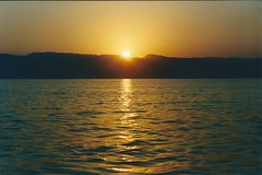 Sunset over the Red Sea, Aqaba, Jordan (txetxi62) Tags: redsea jordan aqaba jordania