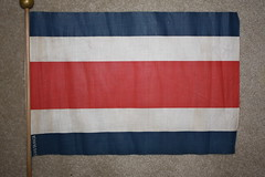 Costa Rica (nicka21045) Tags: vintage antique flag flags nava vexillology fotw