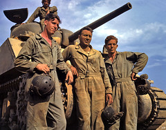 1942 ... US tank crew  (WW2) (x-ray delta one) Tags: coastguard wow army waves propaganda nazis 1940 ww2 pearlharbor spies marines 1942 patriotism blitz 1945 liberation defense 1941 1939 raf 1944 homefront 1943 allies oldglory japs wacs airraid spars armyairforce looselips worldwarll