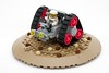 TORX Space Rover (ted @ndes) Tags: classic wheel three belt triangle tank lego space tracks rover tri tread buggy lunar mtron febrovery