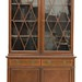131. Edwardian Glazed Door Hutch