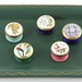 148A. Group of Five Halcyon Days Miniature Enamel Boxes