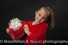 velentine'd day (Maximilian B. Nucci photography) Tags: red portrait holiday love girl kids studio heart sweet chocolate event littlegirl valentinesday 4yearold strobes