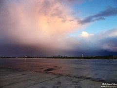 Malta --- Airport --- Rainy Weather (Drinu C) Tags: rain weather clouds landscape airport sony malta rainy dsc hx9v adrianciliaphotography