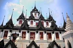 Wat Ratchanaddaram, Bangkok, Thailand (kingdomany) Tags: travel art architecture thailand temple nikon bangkok thai d90