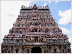 2988 - Chidambaram temple (chandrasekaran a) Tags: travel india heritage architecture canon culture traditions temples hinduism tamilnadu chidambaram saivism templeart lordsiva gopurams sabhas nayanmars  powershotsx40hs