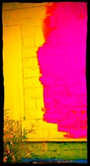 Recycled Wall (SA_Steve) Tags: color colour building colors america buildings colorful colours