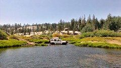 Day 7 - Swim (SXN) Tags: california road bear ca trees white lake green grass car creek forest truck river one pond scenery stream nissan phone mud cell off x trail alpine squid valley pierce brook suv terra xterra emigrant htc sxn soracco piercesoracco 2013piercesoracco piercesoraccocom