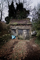 A great garage (JEFF CARR IMAGES) Tags: decay stonebuilt thenorthwestofengland