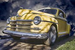 Vintage Plymouth (popparartzzi photography) Tags: yellow vintage automobile plymouth australia alexandra topaz topazadjust popparartzzi