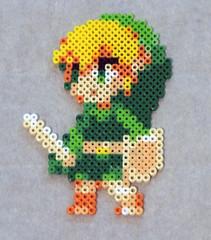 Toon Link (jordexciu) Tags: art beads crafts nintendo videogames pixel sega sprites perler perlerbeads