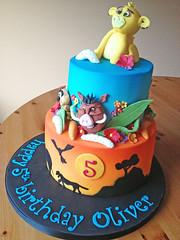 Lion King Cake 1