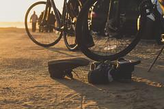 ... (Freakin' David) Tags: ocean street friends light beach bike night sunrise fun 50mm surf mood dof artistic bokeh exploring lifestyle cruising skate longboard passion runaway
