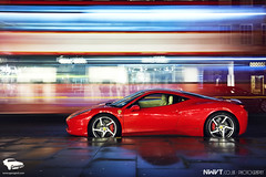 Ferrari 458 Italia shot for Garaged.com on location in London Uk (NWVT.co.uk) Tags: uk red urban london night photography for nikon shoot italia shot ferrari location exotic supercar d800 458 nwvt garagedcom