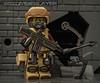 SBS trooper (The Brick Zombie) Tags: lego grenades gasmask compoundbow assaultrifle deserteagle minifigures brickarms brickforge legominifigures eclipsegrafx legospecialforces