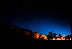 El Chaltn (avius.viator) Tags: travel argentina night stars nikon exposure d200 nikkor 18200mm