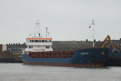 Suderau (Moldovia) Tags: uk greatbritain england river harbor boat europe ship unitedkingdom harbour norfolk eu vessel cargo ag gb pointandshoot greatyarmouth europeanunion pointshoot eastanglia yare riveryare antiguabarbuda suderau fujifilmfinepixhs20exr callsignv2be1 imo9313682 mmsi304797000