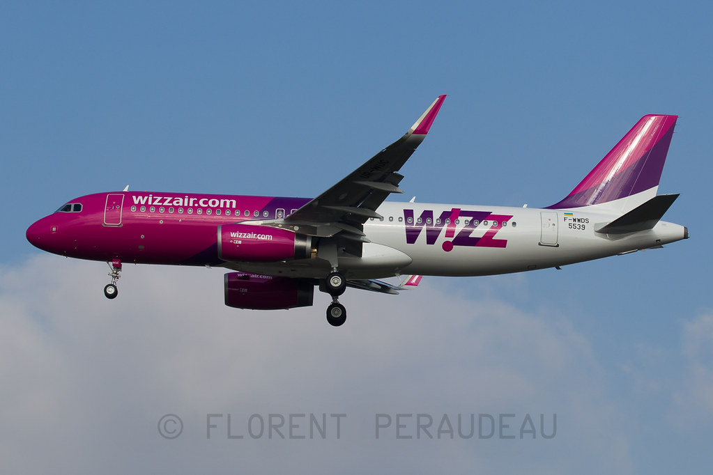 F-WWDS // UR-WUC Wizz Air Ukraine Airbus by Flox Papa, on Flickr