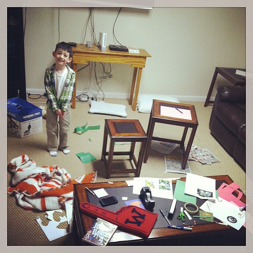Learning is messy guys. #madscientist #i by brueckj23, on Flickr