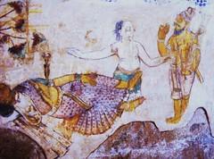 Temple painting (bokage) Tags: india temple thanjavur tamilnadu brihadeshwara