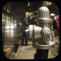 The Decisive Moment... (Friendly Joe) Tags: hydrant neworleans frenchquarter nola fireplug ttv anscoflexii imadethatup shedidofcourse apologiestohenri