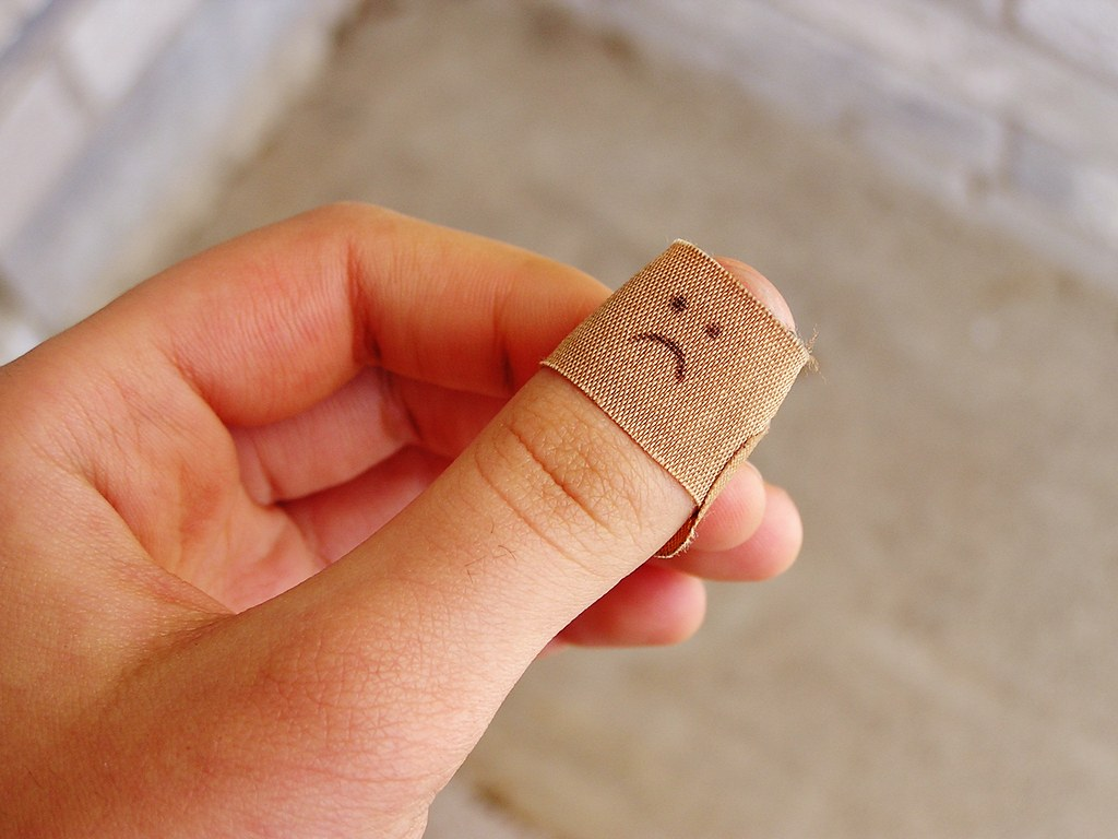 Image result for bandaid thumb
