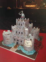 "Medieval castle cake and dragon • <a style=""font-size:0.8em;"" href=""http://www.flickr.com/photos/60584691@N02/8546152547/"" target=""_blank"">View on Flickr</a>"