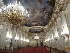 Schnbrunn ballroom (jepoirrier) Tags: schnbrunn vienna ball austria palace ballroom candelier sooc flickrandroidapp:filter=none