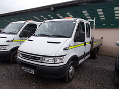 DSCN3000. SP55 BFV. Iveco Daily crew-cab pick-up (ronnie.cameron2009) Tags: scotland scottish pickup iveco crewcab dingwallhighlandmartsltd
