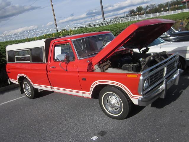 ford truck 1974 explorer pickup f100 cap carshow topper hersheypa aacaeasterndivisionfallmeet