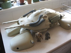 Tanko Volante 2013 (Mark`Stevens ModelCrafter) Tags: art army star junk tank scooter cannon if laser wars recycle sci hover krieger repurpose strahl maschinen