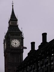 Big Ben at Dusk (Fuji X20) (markdbaynham) Tags: city uk england building london clock architecture digital jack big fuji ben flag famous union capital x historic gb tall trans ornate compact sensor x20 retrol digitaldepotcouk digitaldepotstevenage