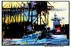 HAFEN VI (CHRISTIAN DAMERIUS - KUNSTGALERIE HAMBURG) Tags: orange berlin rot silhouette modern strand deutschland see licht stillleben dock gesicht meer wasser foto fenster räume hamburg herbst felder wolken haus technik porträt menschen container gelb stadt grün blau ufer hafen fluss landungsbrücken wald nordsee bäume ostsee schatten spiegelung schwarz elbe horizont bilder schiffe ausstellung schleswigholstein figuren frühling landschaften dunkelheit wellen häuser kräne rapsfelder fläche acrylbilder realistisch nordart acrylmalerei acrylgemälde auftragsmalerei auftragsbilder kunstausschreibungen kunstwettbewerbe auftragsmalereihamburg hamburgerkünstler kunstgaleriehamburg galerieninhamburg acrylbilderhamburg virtuellegaleriehamburg acrylmalereihamburg