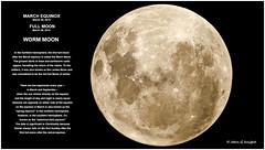 WORM MOON (jgknight1) Tags: moon easter astro telescope astrophotography equinox wormmoon jgknight