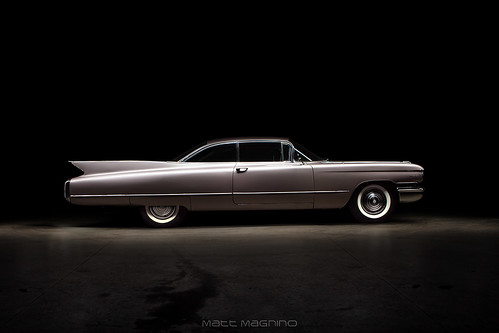 1960 CADILLAC SERIES 62 BUBBLE TOP
