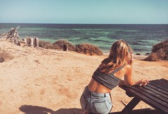 a m a r e c h i a r o (elleCome) Tags: girls summer nature girl form formentera spiaggia