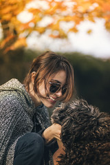TINI STOESSEL // OHMYDOG! (Celeste Martearena) Tags: dog fashion puppy advertising photography kitten autum kitty editorial otoo fotografia tini labradoodle martina pinscher select celeste pincher violetta martearena stoessel