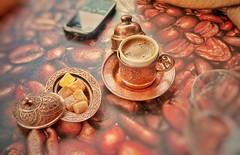 Turkish coffee. (tameristan) Tags: turkiye turkey coffee turkishcoffe turkishdelight delight cafe coffeeshop turkkahvesi kahve drink lokum turklokumu