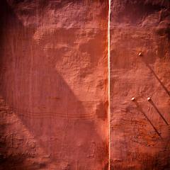 redwallminisundialism ;) (kirilko) Tags: redwall sundial minimalism shadows fujix100 finepixx100 sunny red texture urban 35mm ukraine kyiv