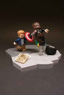 MCU moc9 Captain America Winter Soldier